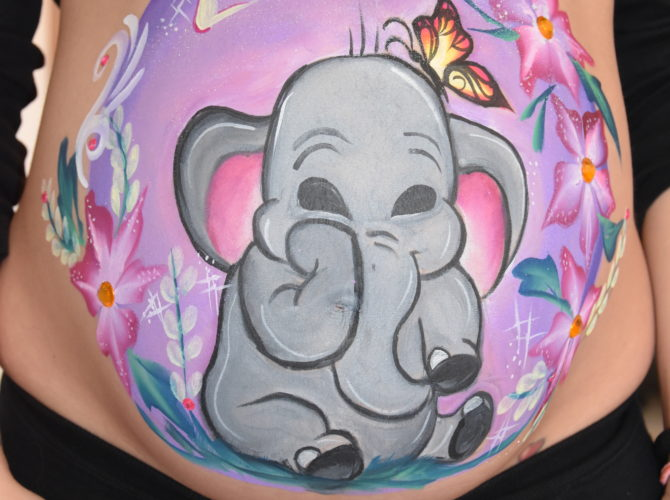Belly Painting Roma Portuense